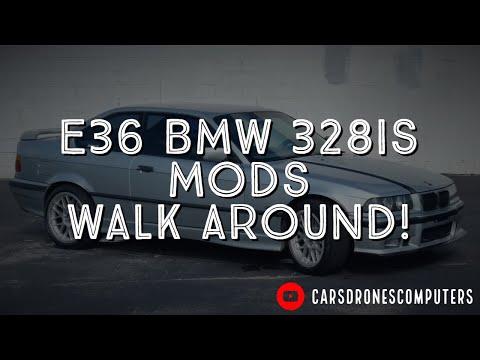1998 E36 BMW 328is 5 Speed Tour | Alcantara M3 Steering Wheel | Active Autowerke Tune Stage 1