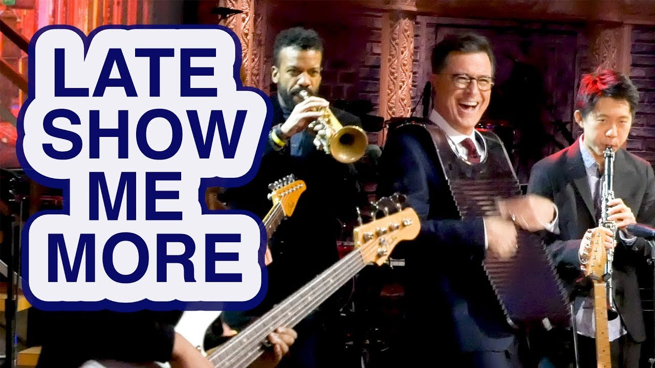 LATE  SHOW ME MORE: Stephen Plays The Spoons thumbnail