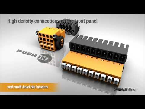Connecteurs pour CI pas <  5mm