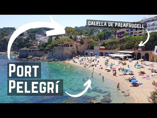 Platja Port Pelegri, Calella de Palafrugell, Costa Brava, España