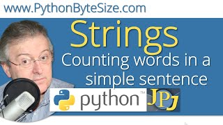 Counting words in a simple sentence (Python string)