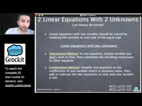Grockit GMAT and MBA Admissions Course: Lesson 4, Part 5 – Quant Number Properties and Operations