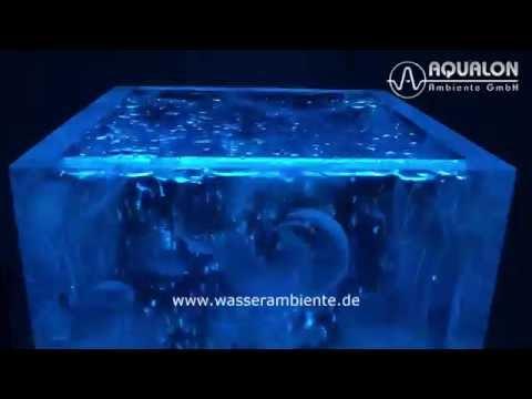 "Wassersäule aus acrylic couture ""Aqualon Aquavento"""