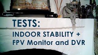 Syma X1 + Nano QX Hybrid - Indoor FPV DVR Test