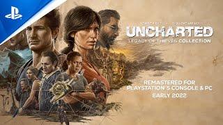 Uncharted: Legacy of Thieves Collection sẽ remaster 2 siêu phẩm của PS4 cho cả PC lẫn PS5, 2022 phát hành