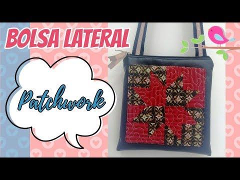 Bolsinha Lateral com bolso