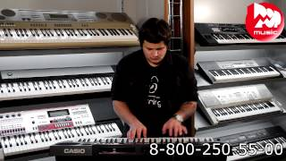 Видео Casio CTK-6250 Синтезатор