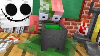 Monster School : ALCHEMY BREWING CHALLENGE - Minecraft Animation