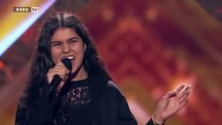 X Factor Denmark 2017 - Zarah Sings Billie Jean By Michael Jackson - 5 Chair Challenge