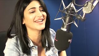 Shruti Haasan on working with A.R.Rahman!