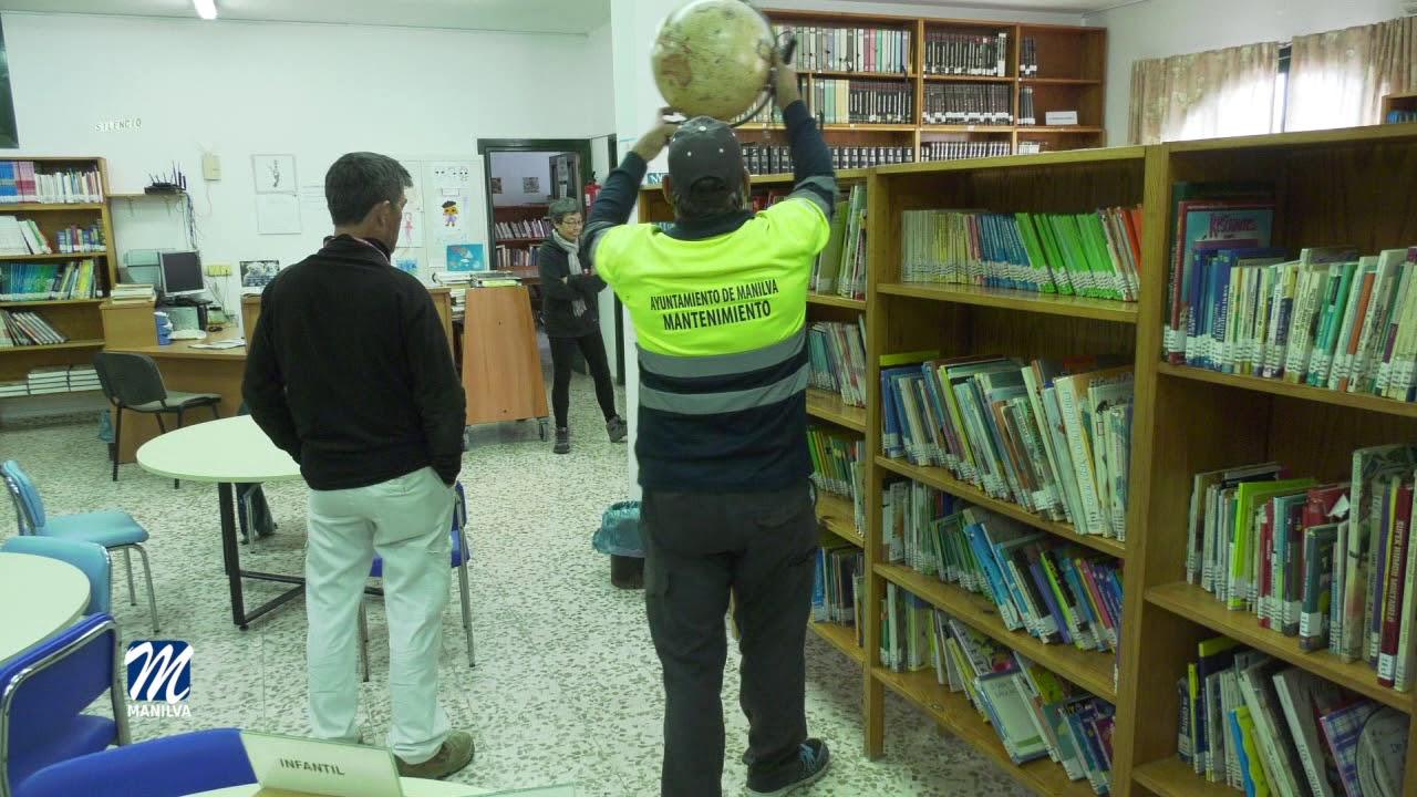 MEJORAS EN LA BIBLIOTECA, ESTARÁ CERRADA HASTA EL LUNES