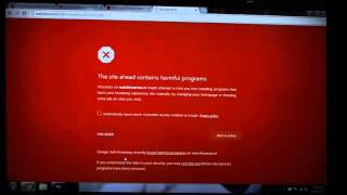 """How To Bypass Google Chrome Red Screen """"The site ahead contains harmful programs"""""""