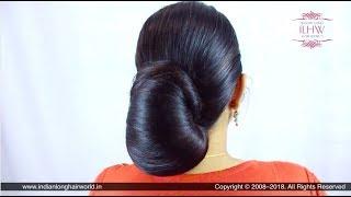 ILHW Sunila's Beautiful & Elegant Layered Bun/Koli Style Bun Making, Flaunting & Bun Drop