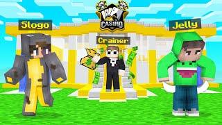 OPENING My OWN CASINO In Minecraft!