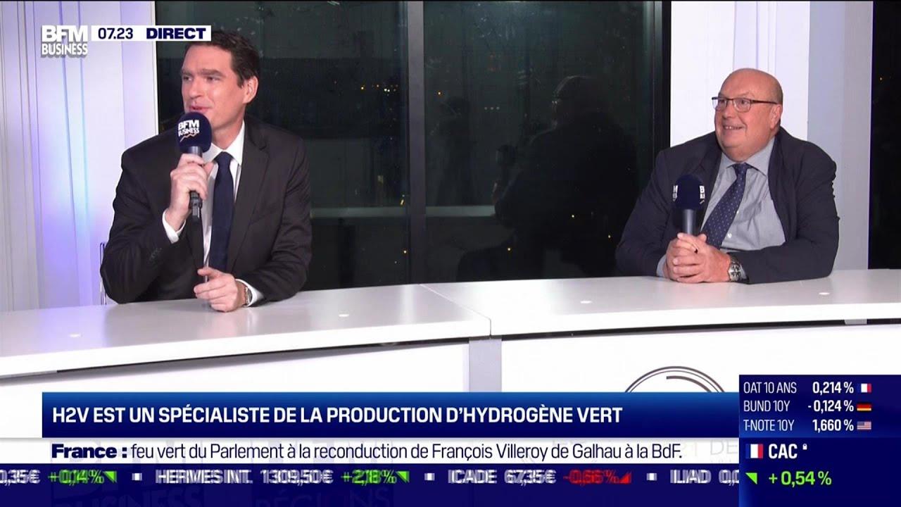 Jean-Marc Léonhardt (H2V)  et Mathias Povse (EDF): Le secteur de l'énergie dans les Hauts-de-France