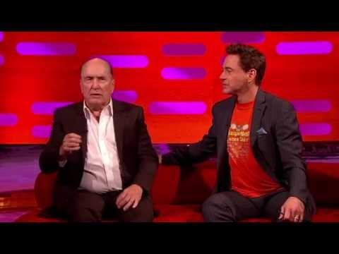 The Graham Norton show S16 E04 Robert Downey Jr., Stephan Fry, Robert Duvall and U2