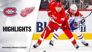 NHL Highlights   Canadiens @ Red Wings 2/18/20