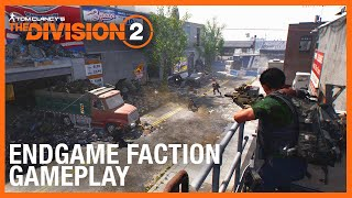 The Division 2: Fighting The Black Tusks | Endgame Faction Gameplay