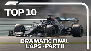 Top 10 Dramatic Final Laps In F1 - Part 2