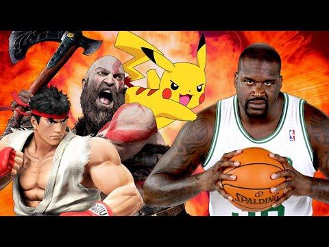 Shaq Wants To Kill Kratos and Pikachu – Up At Noon Live!