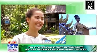 [ENG SUB] Yaya is Excited and Glad People Complimented Her Performance & NY Notebook TKBT 28/10/18