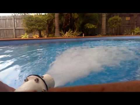 how to make a water jet drive