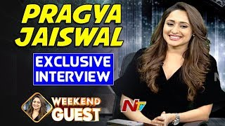 Pragya Jaiswal Exclusive Interview | Weekend Guest