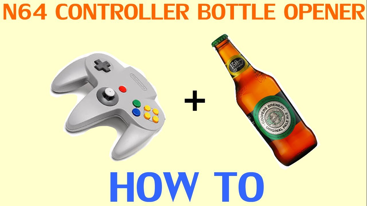 This Is How You Open A Beer Bottle With An N64 Controller