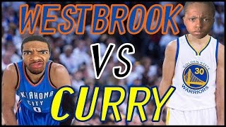 WHO'S BETTER? WESTBROOK OR CURRY? - NBA 2K16 Head to Head Blacktop Gameplay Game 4