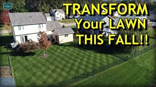 Your COMPLETE Guide to Fall Lawn Care