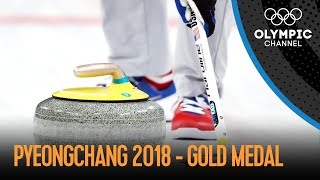 USA Vs. SWE - Mens Curling - Full Gold Medal Match | PyeongChang 2018 Replays