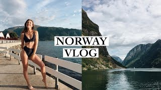 NORWAY VLOG: swimming in the fjord, boat trips, waterfalls