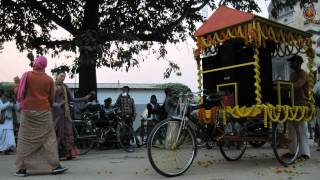 preview picture of video '2014 Mayapur new Harinam bicycle trolley inagurated.'