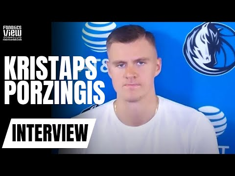 "Kristaps Porzingis says Houston Rockets Are a ""Weird"" Team to Play Against & Felt Like the Playoffs"