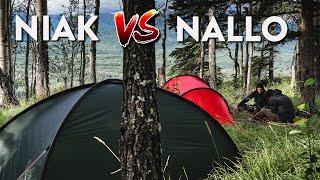 Hilleberg Niak vs. Nallo 2 GT/Anjan 2 GT