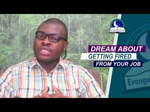 DREAM ABOUT GETTING FIRED FROM YOUR JOB - Evangelist Joshua TV