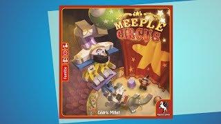 Meeple Circus // Brettspiel - Erklärvideo