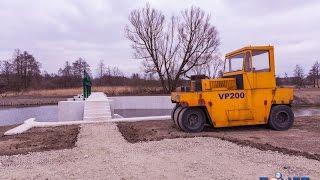preview picture of video 'Mała Łyna nowa tama jazz Dobre Miasto Tonetic'