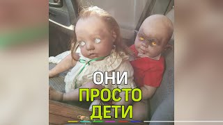 Американка прославилась благодаря созданию страшных кукол