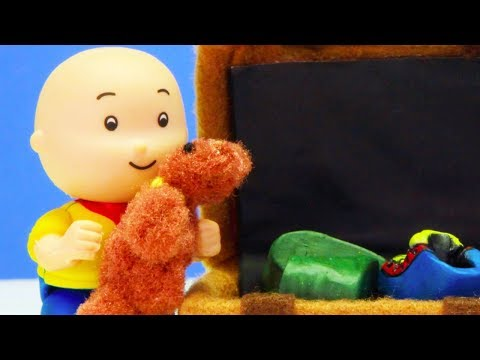 💼 Caillou Packs The Suitcase 💼 | Funny Animated Kids Show | Caillou Stop Motion