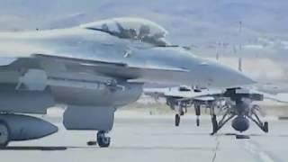 F16 Happy Hooligans Launching Aircraft Red Flag Las Vegas