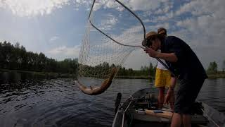 Рыбалка в балахне на чернораменке