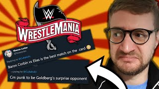 Reacting To YOUR Outlandish WWE WrestleMania 36 Predictions