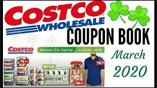 ☘March 2020 COSTCO Coupon Book 💵 MEMBER ONLY SAVINGS DEALS 💰Preview 2020 ● 3/11/20 - 4/5/20