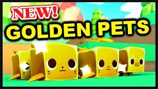Unlocking New Golden Pets Winter World Update 1 Roblox Pet