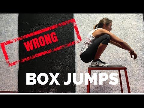 Squat Jump Onto Box