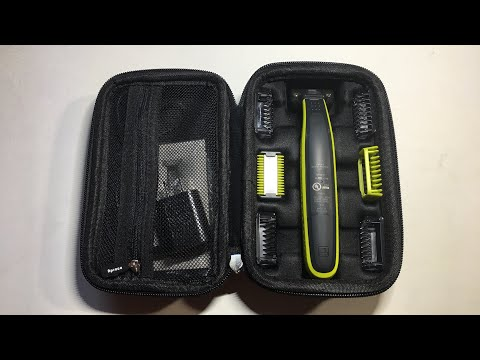 Phillips OneBlade Face & Body Hard Travel Case Review