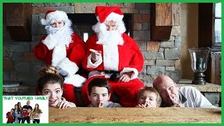 Santa Claus Hello Neighbor In Real Life / That YouTub3 Family I Family Channel