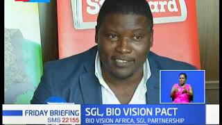 Stanadard Group PLC and Bio Vision Africa seal a deal for Radio programme for farmers
