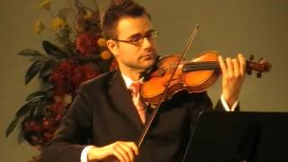Under His Wings  -  Violin by Javier. GC Annual Council Worship